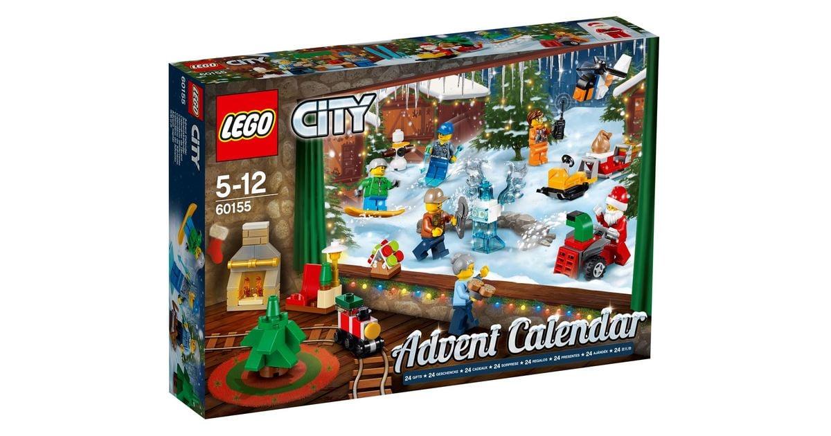 Lego City Advent Calendar 2018 Toy Advent Calendars For