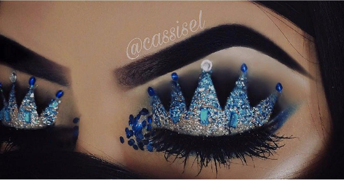 crown makeup trend