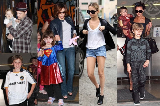 Photos of Victoria Beckham, Pregnant Nicole Richie and Eva Longoria Out in LA to Celebrate Cruz Beckham's 4th Birthdat