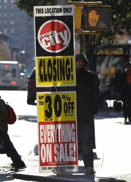 Circuit City Liquidation: It's On