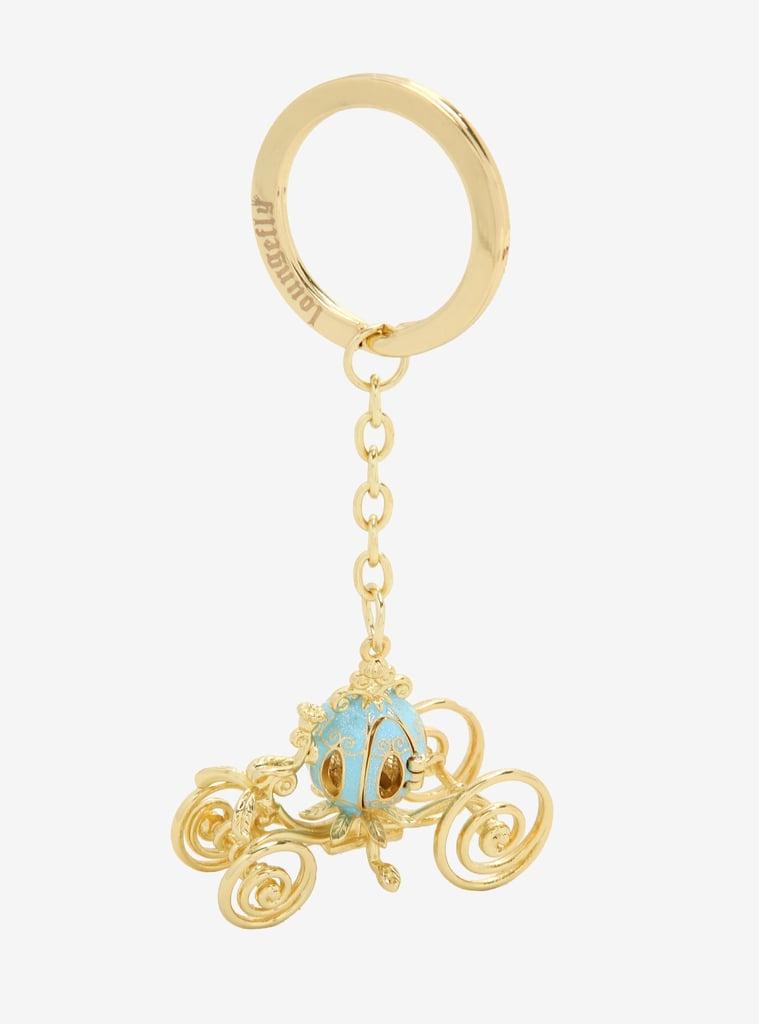 Loungefly Disney Cinderella Carriage 3D Keychain