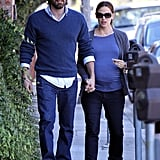 Ben Affleck, father to little ones Violet and Seraphina, welcomed his first son, Samuel, in February 2012 with wife Jennifer Garner.