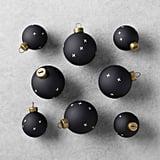 Patterned 8-Piece Ornament Set ($13)