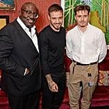 Edward Enninful, Liam Payne, and Brooklyn Beckham