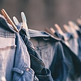 Hang dry your clothing instead of tumbling it in the dryer