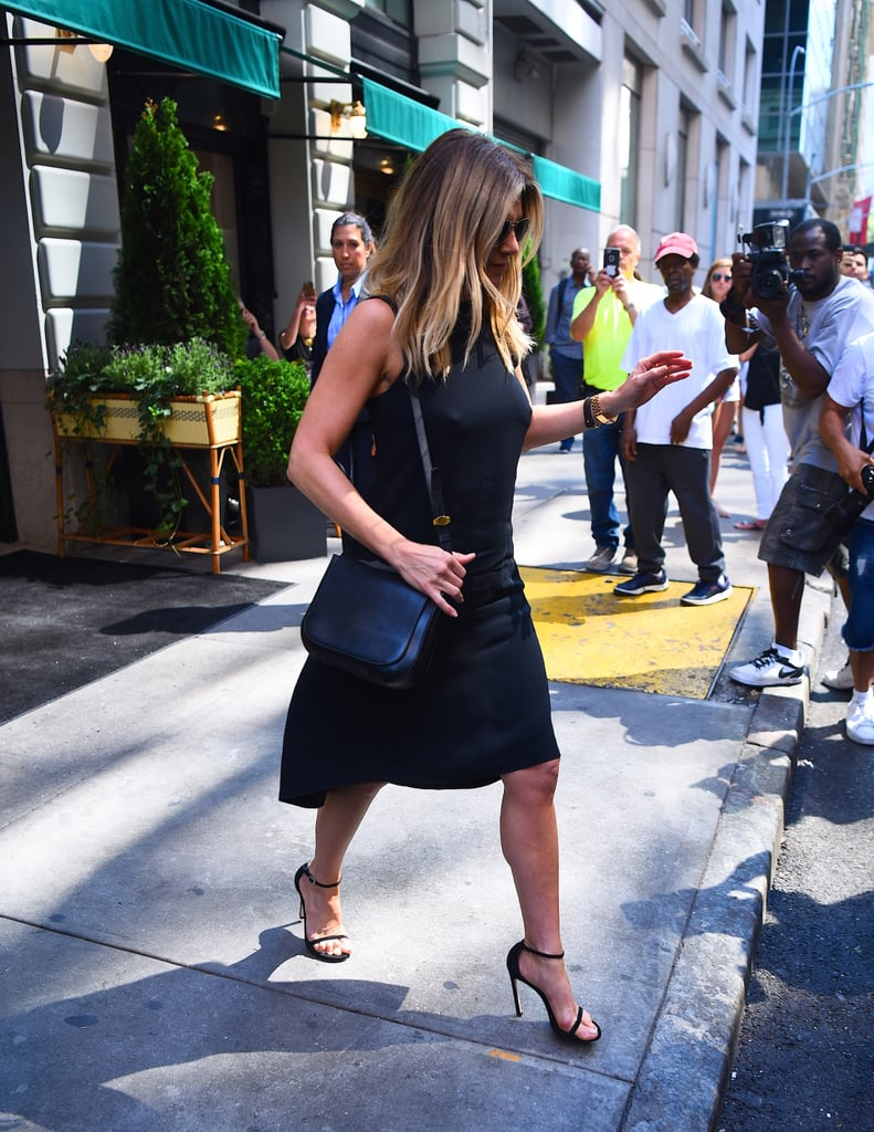 Jennifer Aniston's Style Trick For Making Date Night Clothes Work During the Day