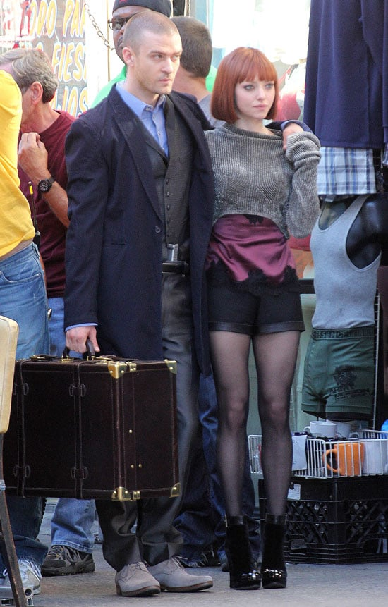 Pictures of Justin Timberlake and Amanda Seyfried