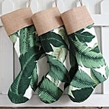 The trendy banana-leaf print has made its way onto just about every surface over the past year, including these popular Tropical Stockings ($35).