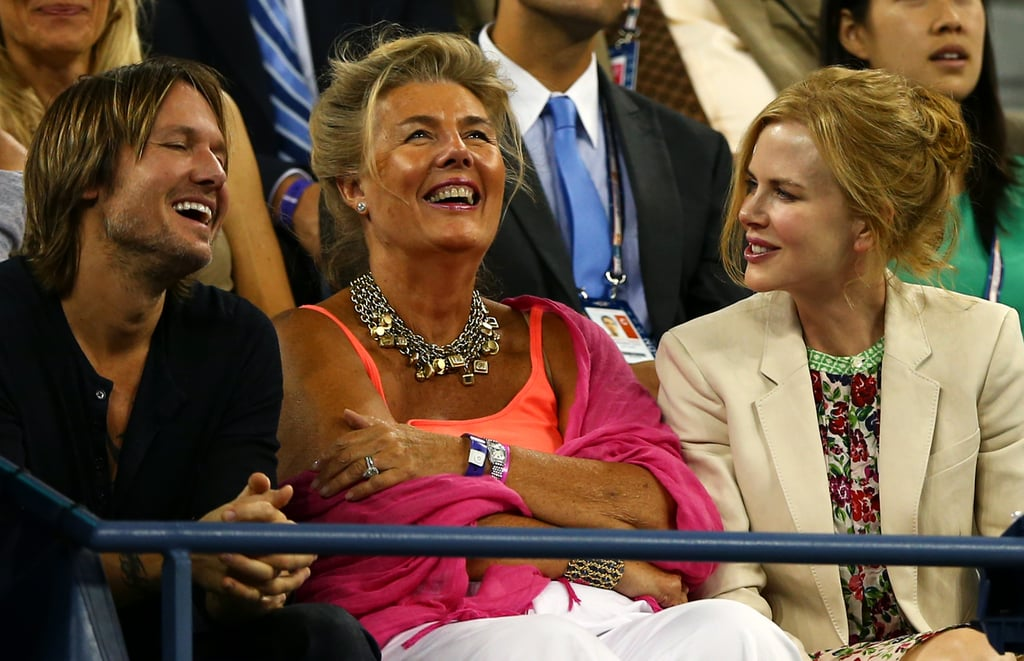 Nicole Kidman and Keith Urban Share a Sweet Kiss at the US Open