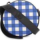Diane von Furstenberg Round Leather Crossbody Bag