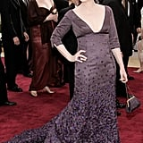 Meryl wore a purple Rogelio Velasco gown to the 2006 Oscars.