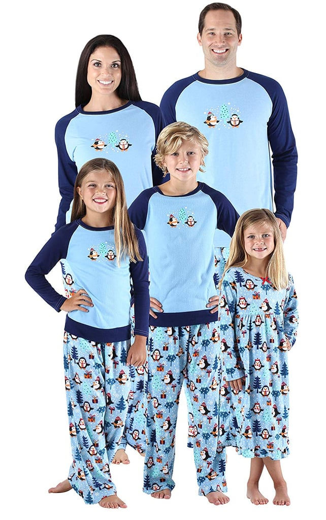 SleepytimePjs Holiday Matching Fleece Penguin Pajamas  21781e7ac