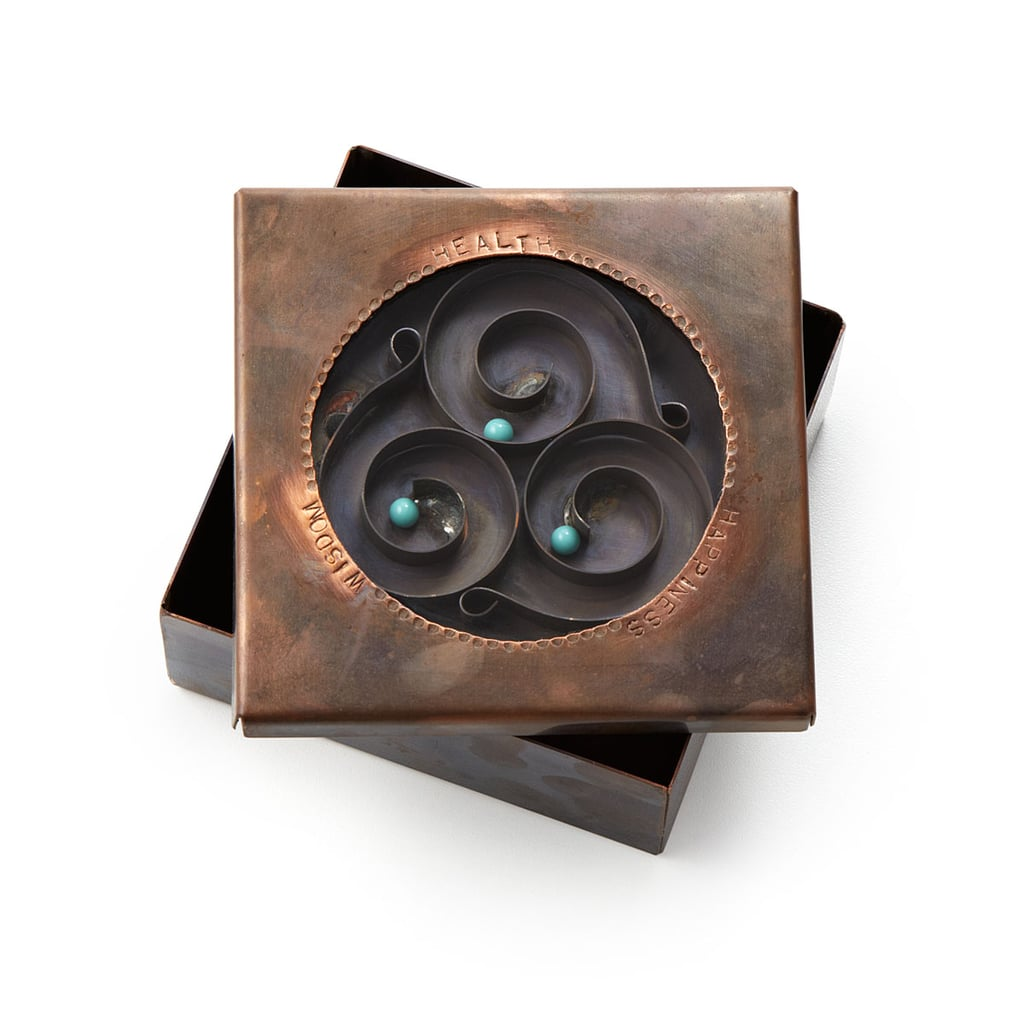 Health, Happiness, Wisdom Reliquary Box ($145)