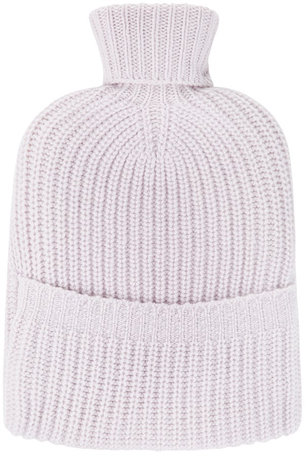 A Cashmere Hot Water Bottle Cover