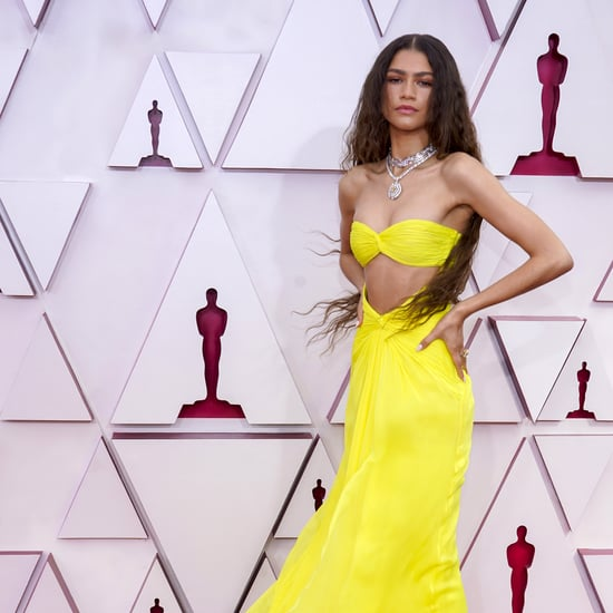 Zendaya's Custom Maison Valentino Dress at the 2021 Oscars
