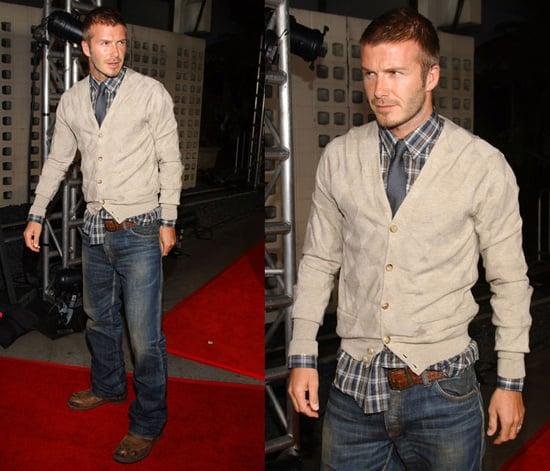 Celebrity Style: David Beckham