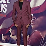 Asante Blackk at the When They See Us World Premiere