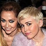 Miley and Brandi Cyrus