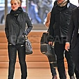 Carey Mulligan and Marcus Mumford in  NYC.