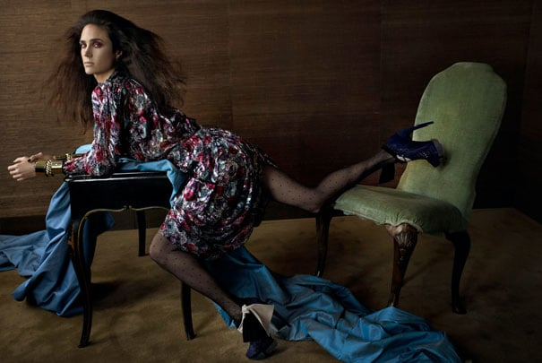 Balenciaga's Full Fall 2009 Campaign, Featuring a Contortionist Jennifer Connelly, Finally Drops