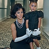 Kim Kardashian and North West Interview Magazine Pictures