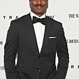 Nate Parker wore a tux for the Arbitrage premiere in NYC.