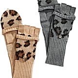 Ralph Lauren Leopard Knit Mittens