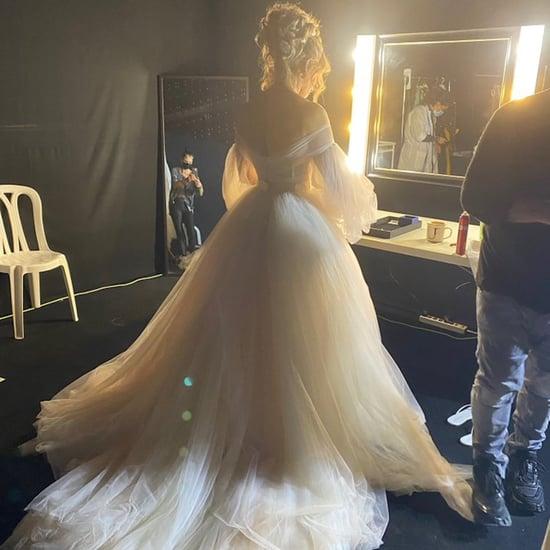See J Lo's Wedding Dress in Shotgun Wedding Film