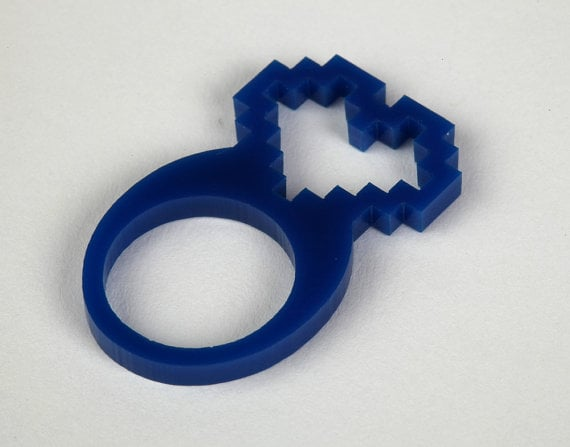 Laser-Cut Acrylic Ring ($3)