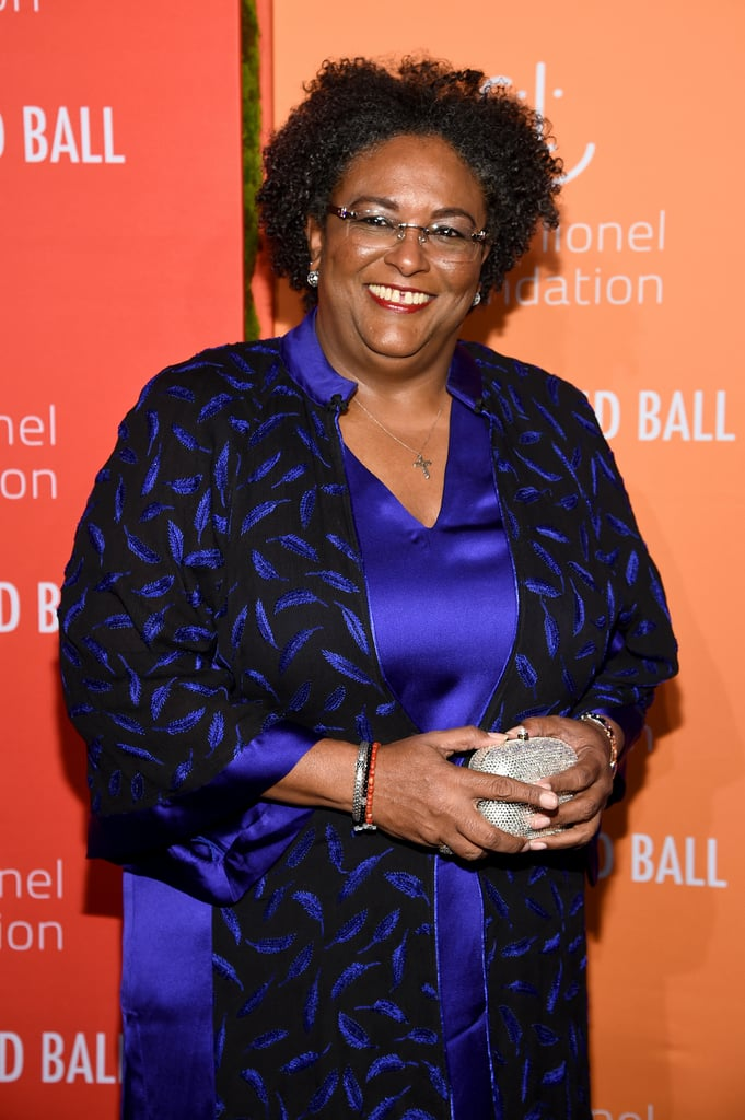 Prime Minister of Barbados Mia Mottley at the 2019 Diamond Ball