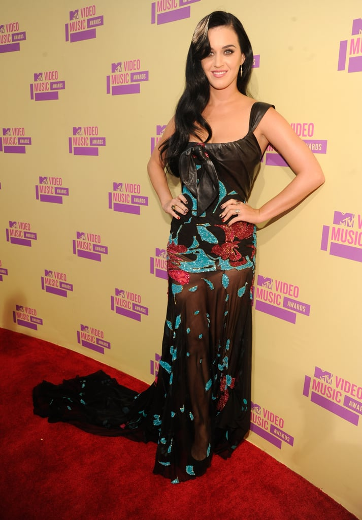 Katy Perry wore Elie Saab on the red carpet.