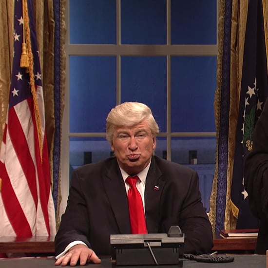 Alec Baldwin Mocks Donald Trump's Diplomacy on SNL