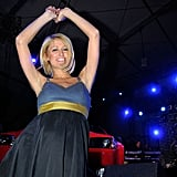 Paris Hilton danced to 50 Cent's performance during the Celebrity Beach Bowl in 2008.