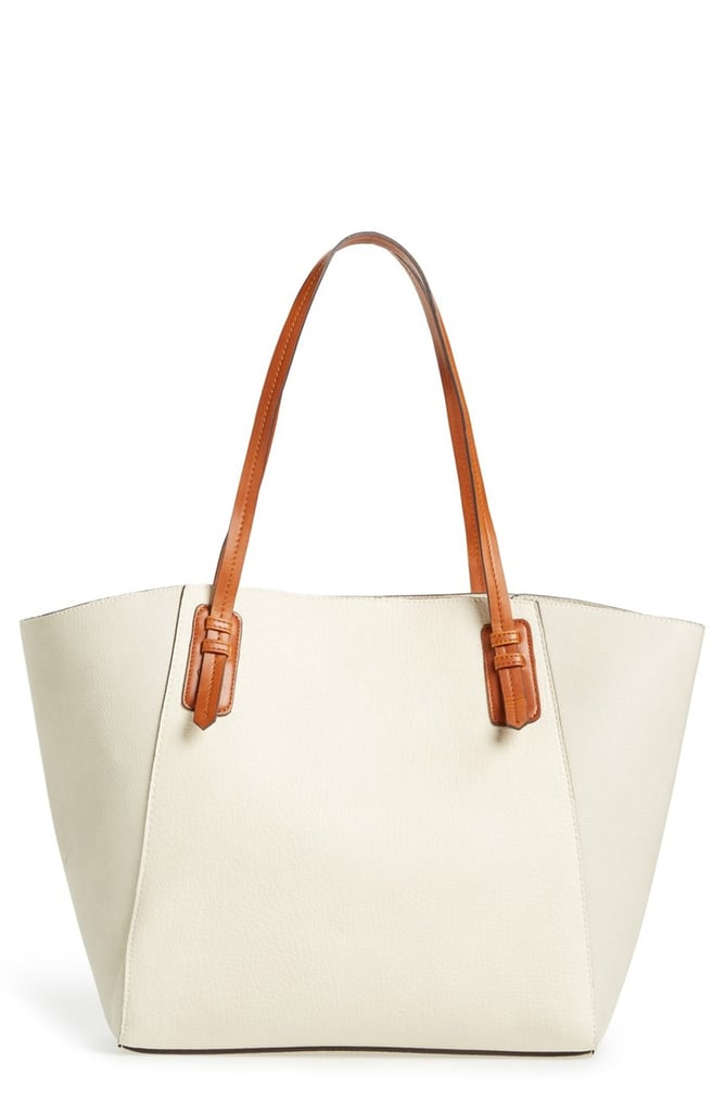 Sole Society Faux Leather Trapeze Tote ($60)