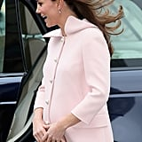 Kate Middleton and the Royal Family at Westminster Abbey