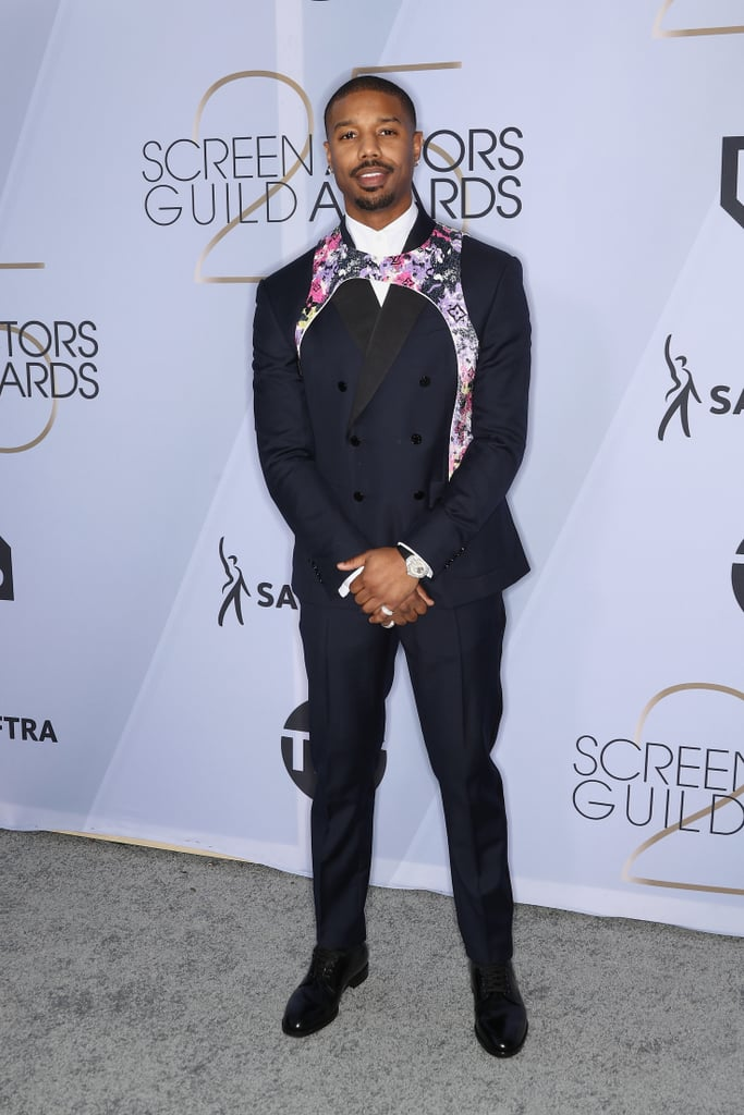 Michael B. Jordan at the 2019 SAG Awards