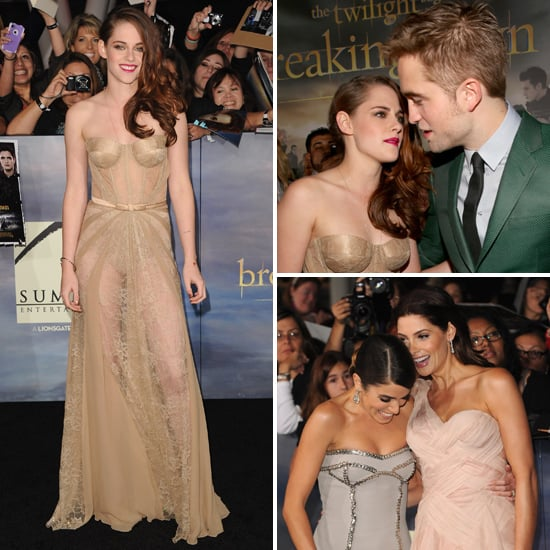 Stars Hit The Red Carpet For Breaking Dawn Part 2 Premiere!