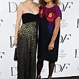 Diane von Furstenberg and Rinko Kikuchi