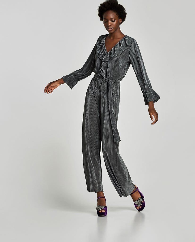 Zara Pleated Jumpsuit