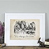 "Alice In Wonderland ""Tea Time"" Print"