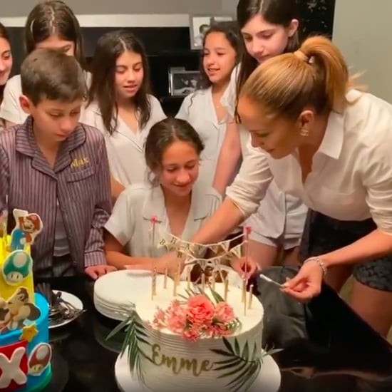Jennifer Lopez Posts Video of Max and Emme's 12th Birthday