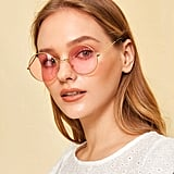 SheIn Round Frame Tinted Sunglasses