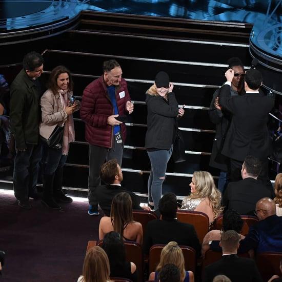 Ryan Gosling Whispering Oscars 2017 Memes