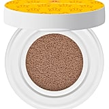 Shu Uemura x Super Mario Bros Fresh Cushion Blush in Brave Amber, $39