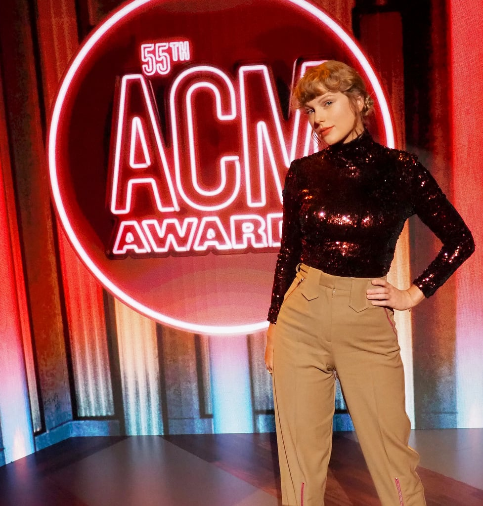 "Taylor Swift is returning to her country music roots for one night only. On Wednesday, the 30-year-old singer attended the ACM Awards for her debut performance of ""Betty"" from her recent Folklore album. This marks Taylor's first appearance on the show in seven years. Ahead of the show, Taylor posed for a few photos outside of the Grand Ole Opry in Nashville, TN. As a longtime Swiftie who used to blast her country hits like ""Our Song"" and ""Teardrops on My Guitar"" on full volume, seeing her back at the iconic music venue is giving me all the feels. See more photos of her appearance ahead.       Related:                                                                                                           From Rising Country Singer to Pop Star: Taylor Swift's 13-Year Evolution in Pictures"
