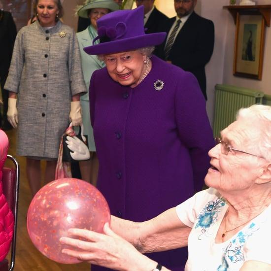 Queen Elizabeth Awkward Ball Video