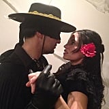 Zorro and Elena Montero From The Legend of Zorro