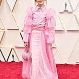 Julia Butters Pink Christian Siriano Outfit at Oscars 2020