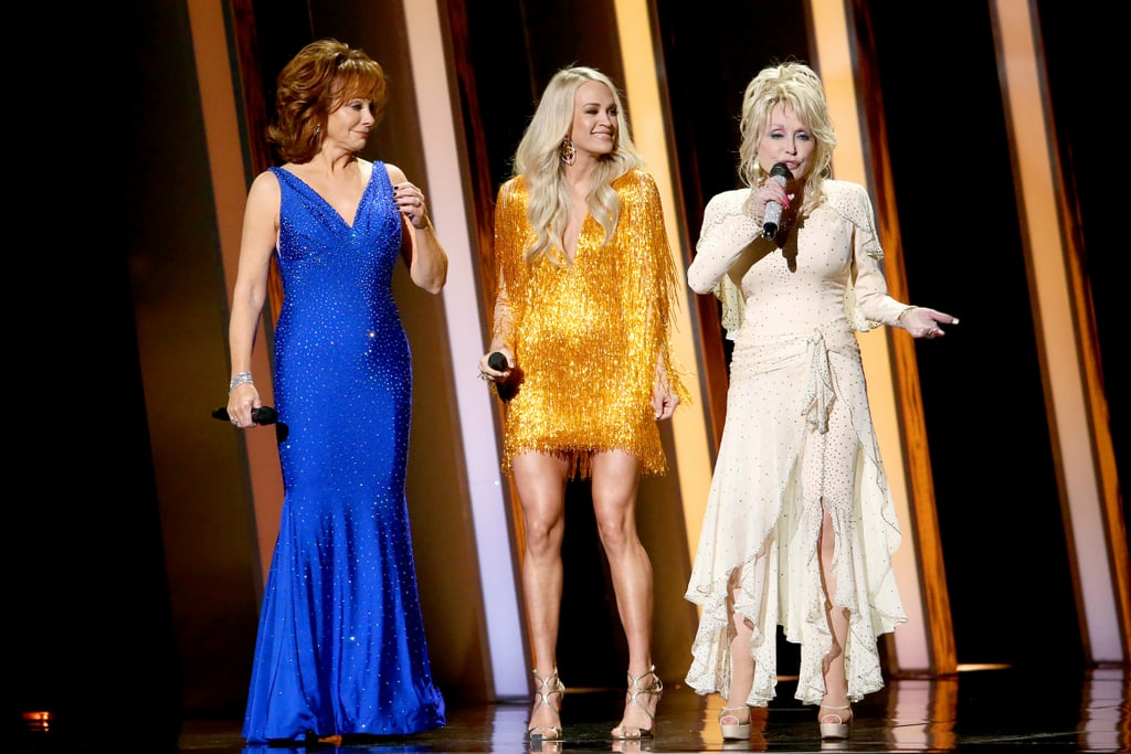 Carrie Underwood's Yellow Diamond Ring at the CMA Awards