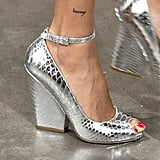 Michael Kors Collection Shoes on the Runway at New York Fashion Week